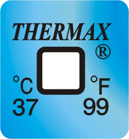 Thermax temperatuur indicator 37°C