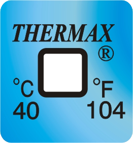 Thermax temperatuur indicator 40°C