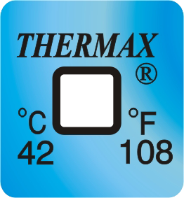 Thermax temperatuur indicator 42°C