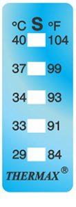 Thermax 5levelI strips temperatuur indicatoren