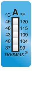 Thermax 5levelA strips temperatuur indicatoren