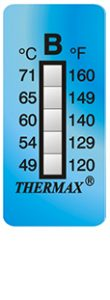 Thermax 5levelB strips temperatuur indicatoren
