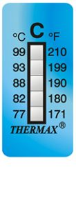 Thermax 5levelC strips temperatuur indicatoren