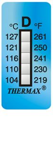 Thermax 5levelD strips temperatuur indicatoren