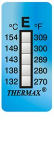 Thermax 5levelE strips temperatuur indicatoren