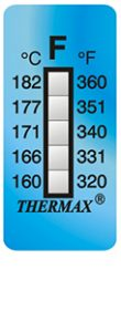 Thermax 5levelF strips temperatuur indicatoren