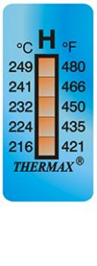 Thermax 5levelH strips temperatuur indicatoren