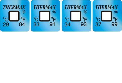 Thermax temperatuur indicatoren